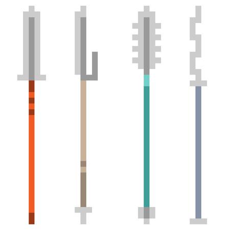 spear: pixel art spear
