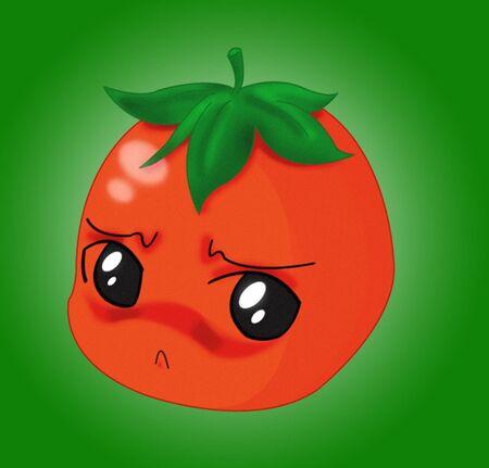 glittery: Just a Tomato