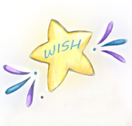 Wish Upon A Star Stock Illustratie