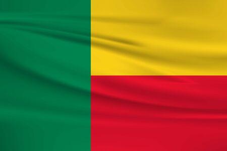 Flag Of Benin Stock Illustratie