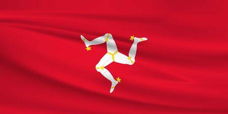 Isle of the Man flag