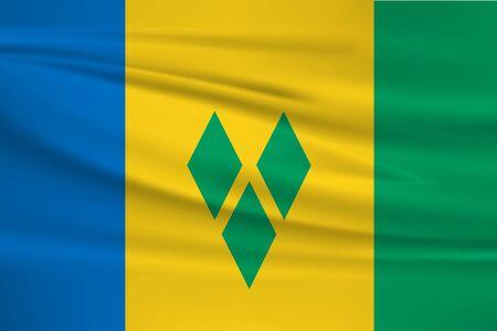 Flag of st vincent