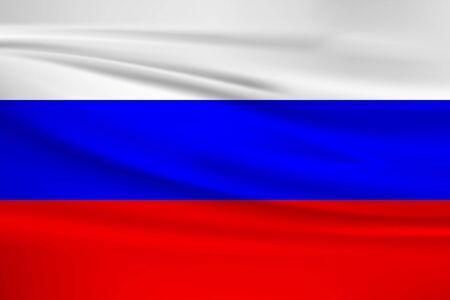 Flag Of Russia Stock Illustratie