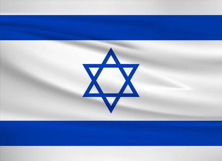 Flag of Israel 일러스트