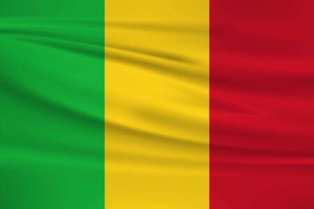 Flag Of Mali Stock Illustratie