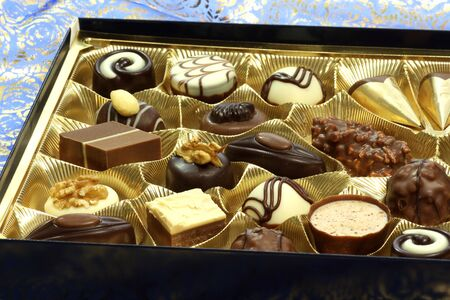 Assortment of chocolates in a box Stock Photo - 4679578