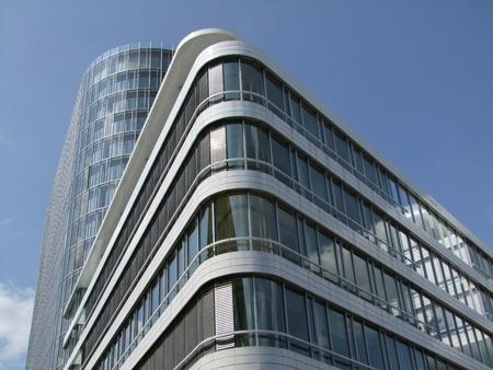 Modern office building complex in stuttgart