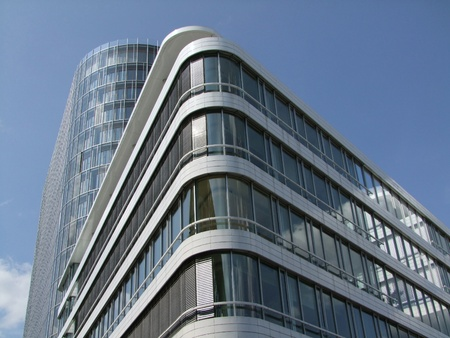 Modern office building complex in stuttgart