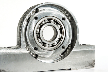 Mounted roller bearing unit CNC technology. Milling lathe and drilling industry. Metalworking. Mechanical engineering