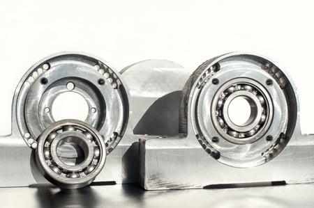 Mounted roller bearing unit blank. Mechanical engineering. Standard-Bild