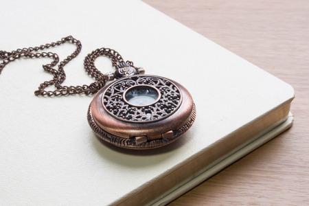 medaglione: orologio medaglione Archivio Fotografico