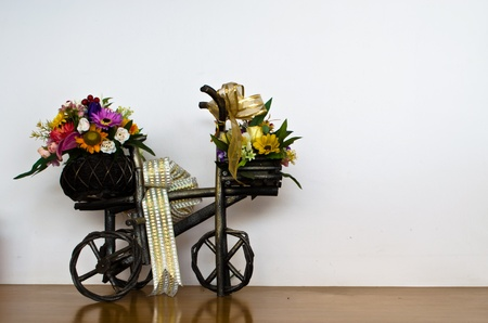Bicycle with Flowers photo