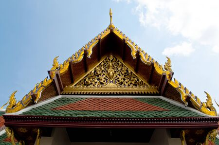 A Part of Thai Architecture photo