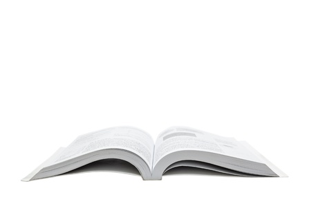 a book opened in the middle Stock Photo - 17755785
