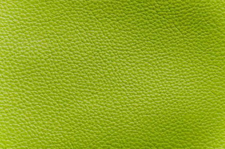 closeup of detailed green artificial leather