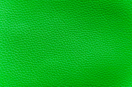 closeup of detailed deep-green artificial leather Stock Photo