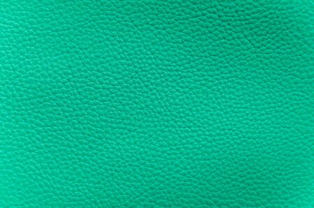 closeup of detailed cyano-blue artificial leather Imagens