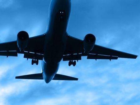Atterraggio o volo piano via