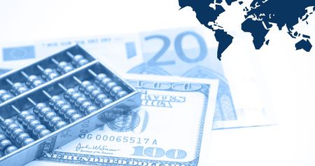 reviewer: Montage of financial theme, blue ::Note for reviewer: I am owner of all photos used in the montage