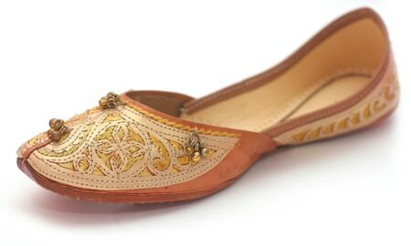 Indian shoes Stock Photo