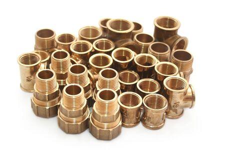 Gruppo di rame rubinetteria in ottone