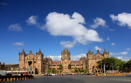 patrimony: Mumbai India Chhatrapati Shivaji Terminus UNESCO historic inndian terminal