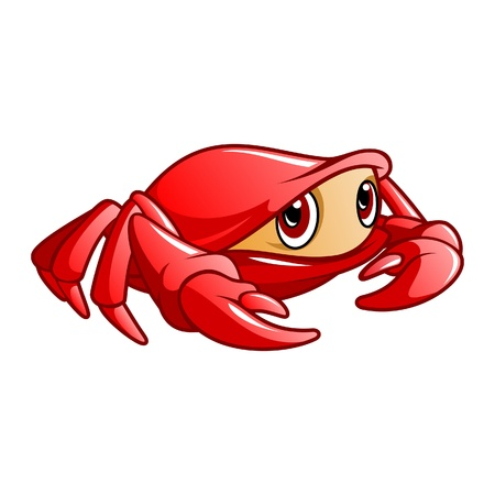 Illustration of crab, it can be used as mascot for restaurant, great for poster, and other