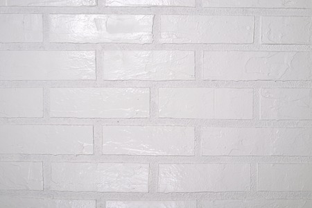 blanche: Square white brick wall background