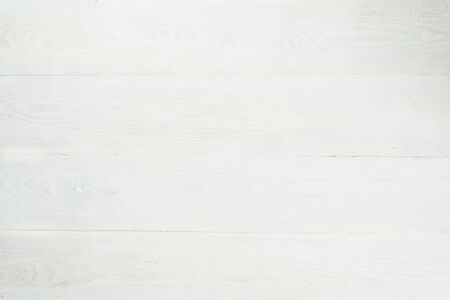 Background from wooden wide boards painted in matt white