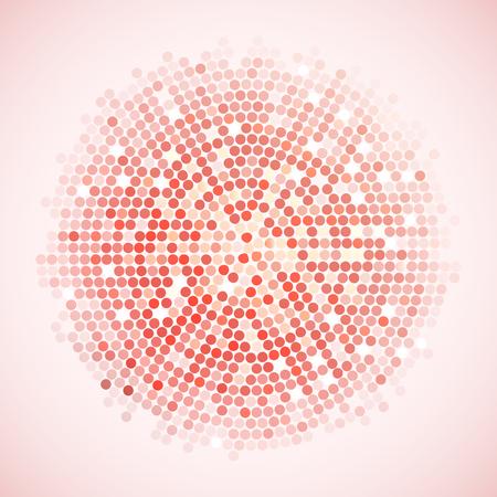 Abstract Fashion Background Vector Illustration Concept Design Vettoriali