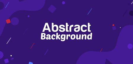 Abstract Geometric Shape Vector Banner Background Illustration Archivio Fotografico - 126211562
