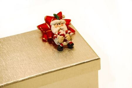 i beam: silver box. Christmas