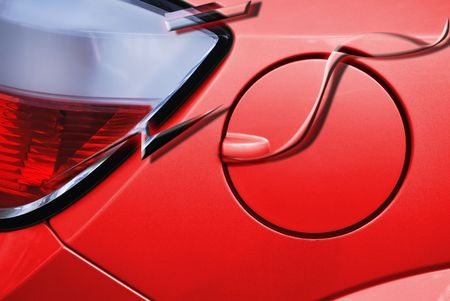 l petrol: car petrol lid