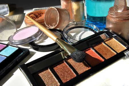 make-up beautiful colors