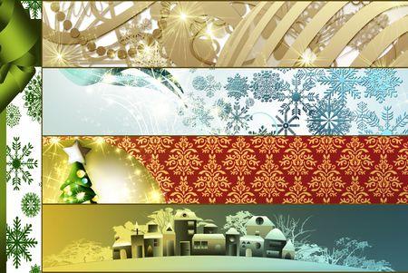 Christmas collage Stock Photo - 8222153