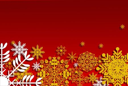 Christmas card with yellow stars Stock Photo - 8222139