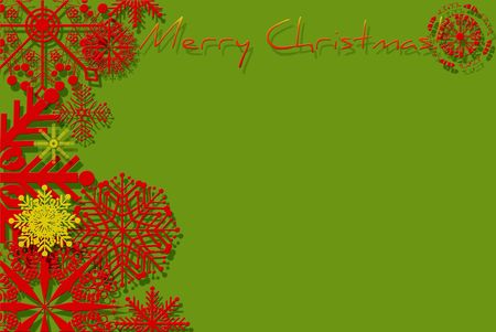 card. green gift wrapped Stock Photo - 8222147