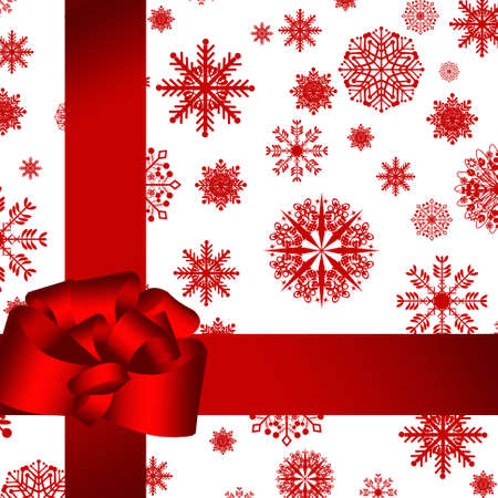 card. red gift wrapped Stock Photo - 8222154