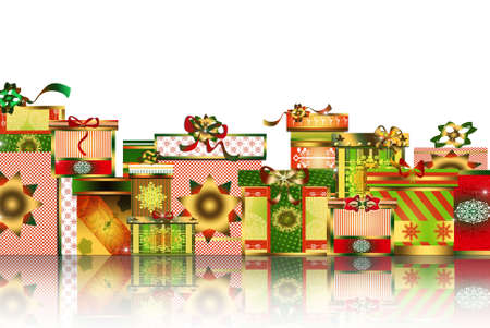 Christmas gifts and surprises photo