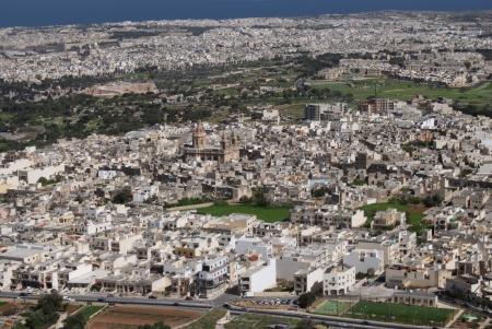 mediterraneo: panoramic views of the old city of Malta. Mediterraneo