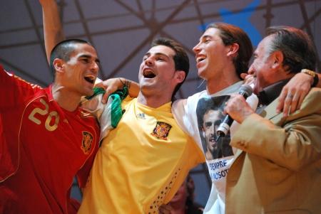 Manolo escobar  Spanish singer  Eurocup 2008  19 10 1931- 24 10 2013
