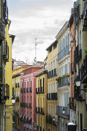 Lavapies, antique and tourist district of the Madrid center