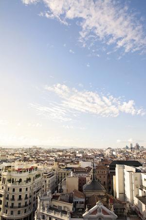 district: skyline, central Madrid district