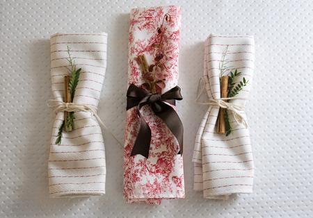 napkins: napkins decorated christmas