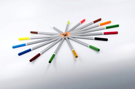 divergence: Pencil creative design