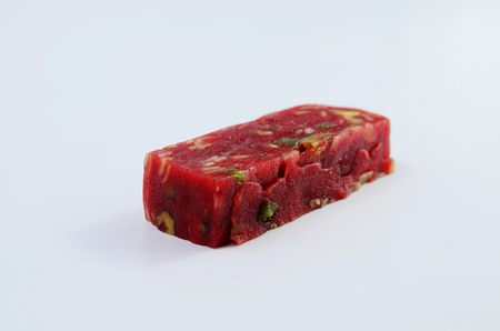 lard: Lard cake Stock Photo