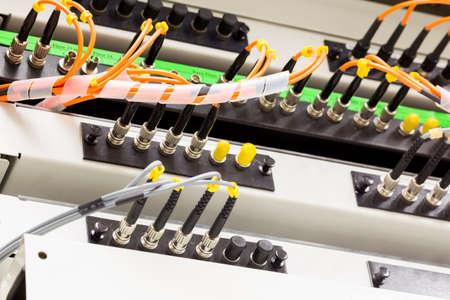 fiber optic cable: Fiber optic cable