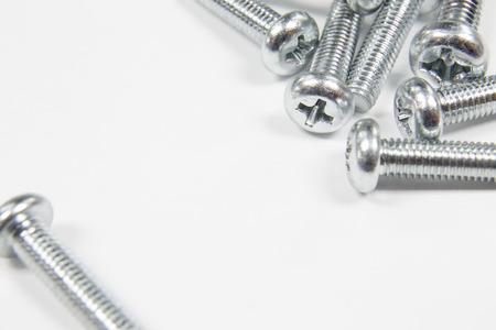 tornillos: Tornillos de hierro Foto de archivo