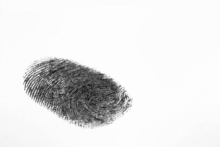 criminology: Fingerprint
