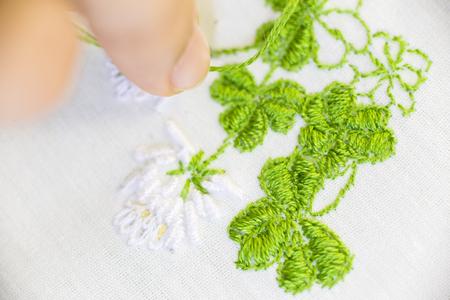stitch: Flower Stitch - soft focus